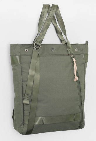 SHANE LAPTOP TOTE / BACKPACK SAGE