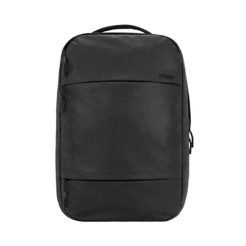 City Compact BackPack w/Coated Canvas