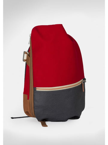Isar Rucksack Multi Touch, Ruby Red