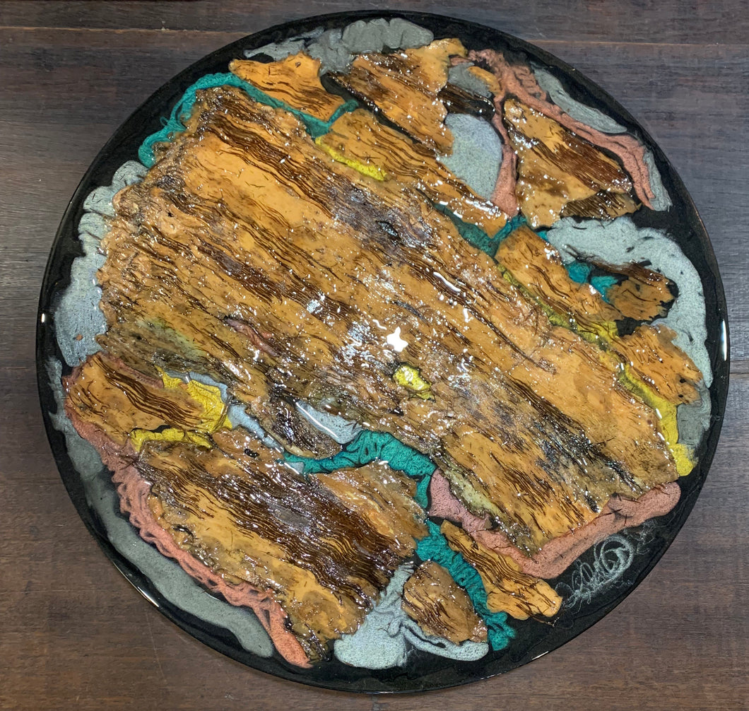 Wall Art - Bark and Epoxy Resin