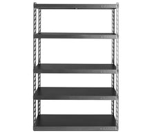 "Load image into Gallery viewer, 48"" Wide EZ Connect Rack with Five 24"" Deep Shelves"