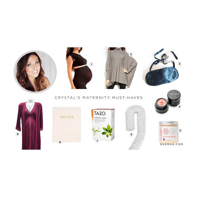 Eva Makes Crystal Palecek's Maternity Must-Have List for Rue Daily