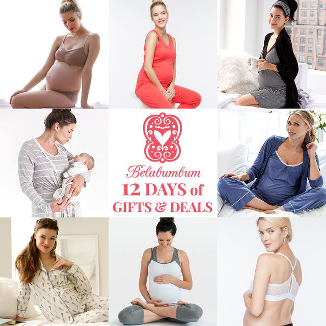 Belabumbum pajamas, loungewear, activewear and lingerie make great baby shower gifts for pregnant and breastfeeding moms.