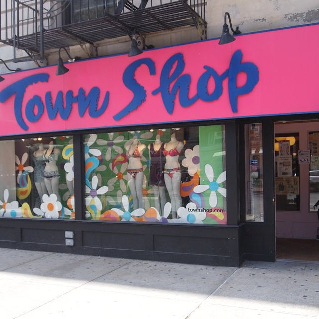 Belabumbum in NYC's Town Shop's new maternity and nursing section