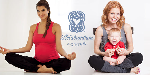 Get Read to Glow On Fit Mom with Belabumbum Active for pregnant and nursing moms.