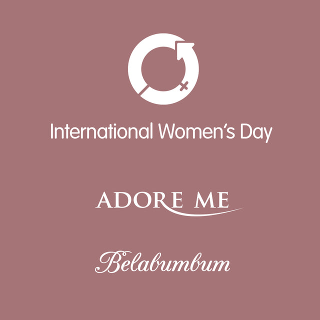 Belabumbum joins forces with Adore Me in time for International Women's Day.