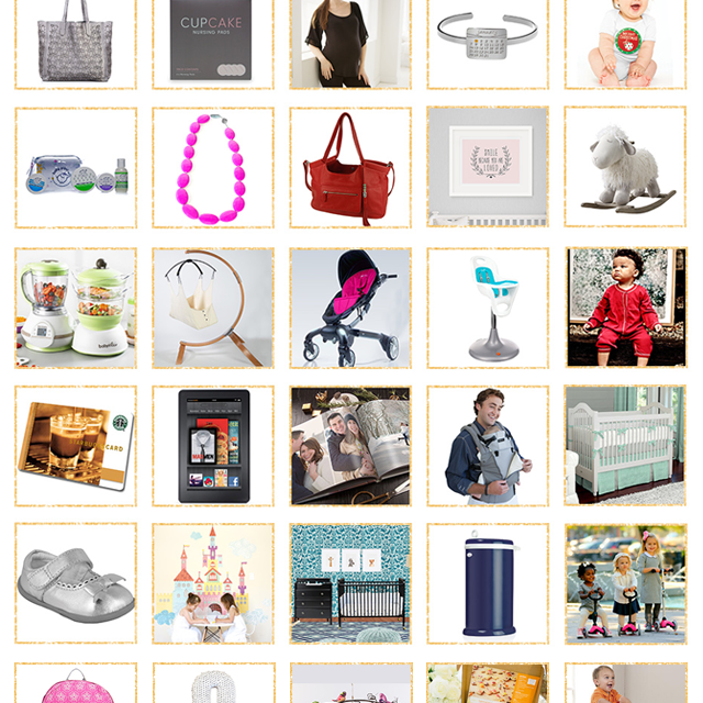 Project Nursery 2014 Gift Guide + Giveaway. Win the ultimate prize package.