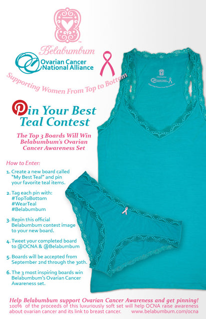 Pin Your Best Teal With Belabumbum & the OCNA!