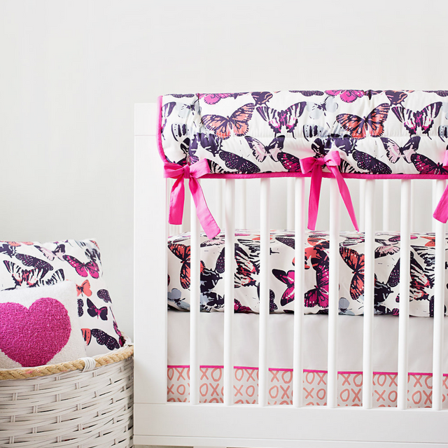 Belabumbum gives sneak peek of Project Nursery and Carousel Design bedding collection.