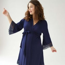 Belabumbum's Tallulah robe is a maternity and nursing favorite for Diary of a Fit Mommy.