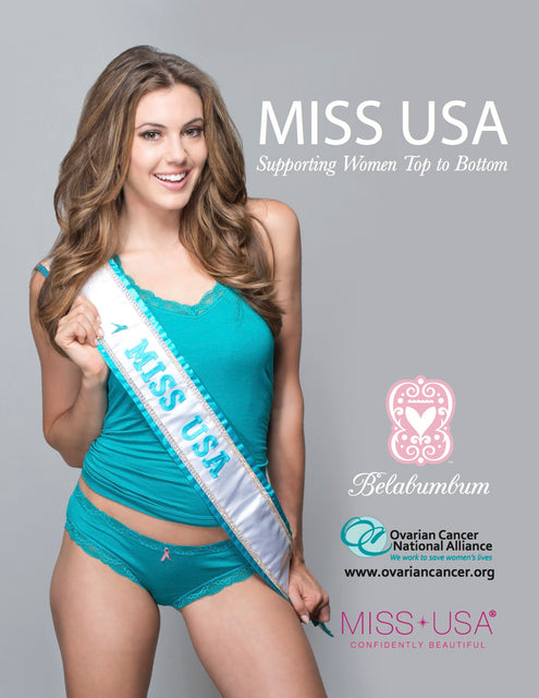 Miss USA Shows Support For OCNA in Belabumbum