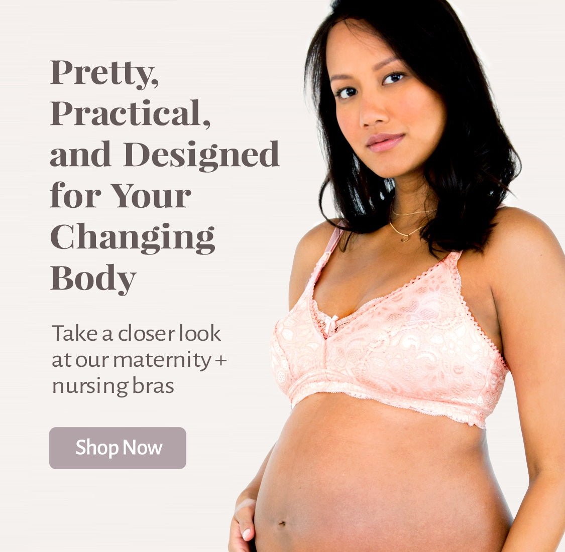 Pretty, Practical, and Designed for Your Changing Body through your pregnancy