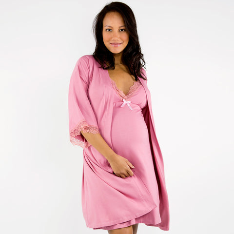 cara maternity robe