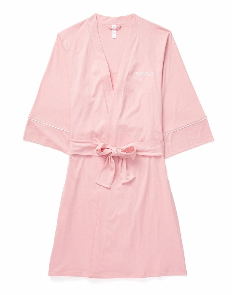 Belabumbum MAMA Robe Maternity & Nursing in color Bridal Rose and shape robe