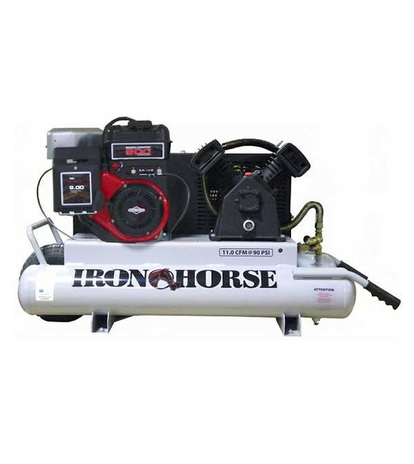 Iron Horse 6-HP 10-Gallon Compressor w/Electric Start
