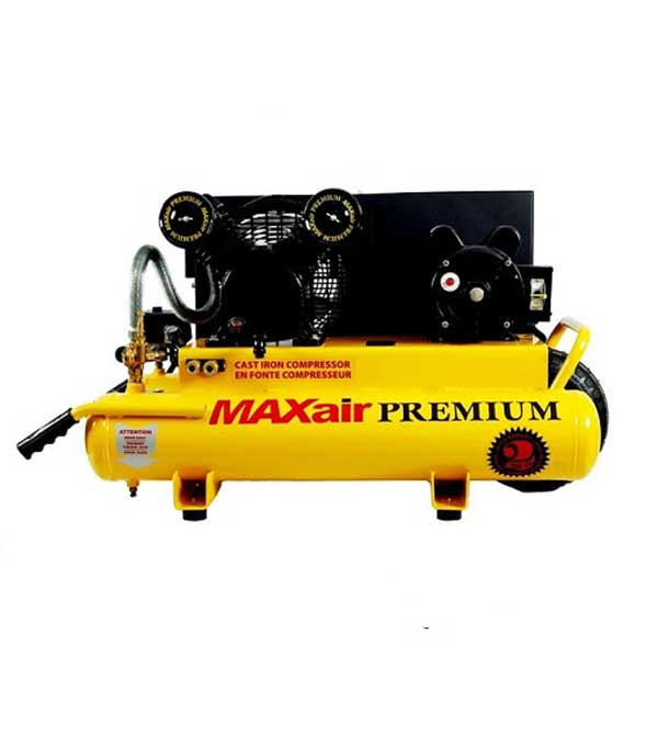 MAXair 3HP 8 Gallon Wheelbarrow Air Compressor TT318E-DV-MAP