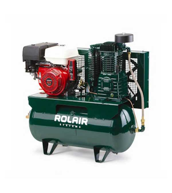 Rolair 13 HP 30 Gallon 2 Stage Truck Mount Air Compressor Honda Engine 13GR30HK30