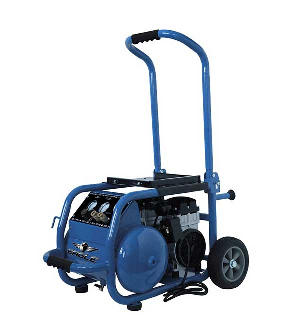 Eagle Silent Series 2.5 HP 6 Gallon Air Compressor