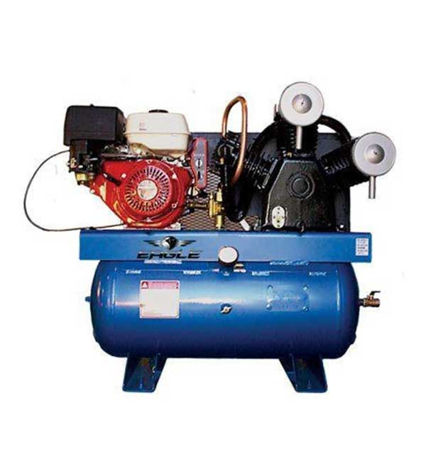 Eagle 13 HP 30 Gallon Two-Stage Truck Mount Air Compressor w/ Honda Engine & Electric Start