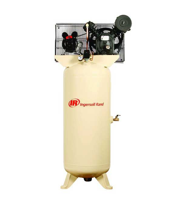 Ingersoll Rand 2475N7.5-V 80 Gallon 7.5 HP Two Stage Air Compressor