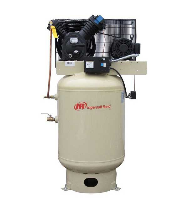 Ingersoll Rand 2545K10-V 120 Gallon 10 HP Two Stage Air Compressor