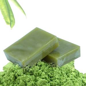Handmade Organic Cold Process Bar Soap --  Matcha Green Tea