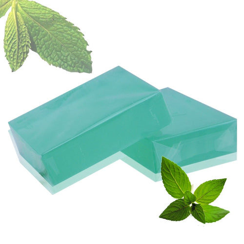 Handmade Organic Cold Process Bar Soap -- Herbal Mint