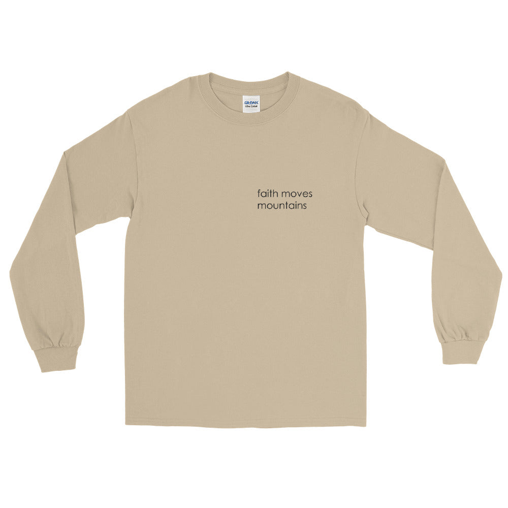 Simple Words: Faith Long Sleeve (Unisex, 3 variations)