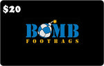 Bomb Footbags Gift Card