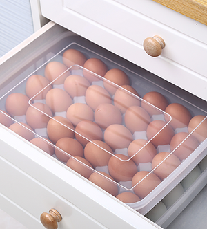 Stackable creative egg storage box