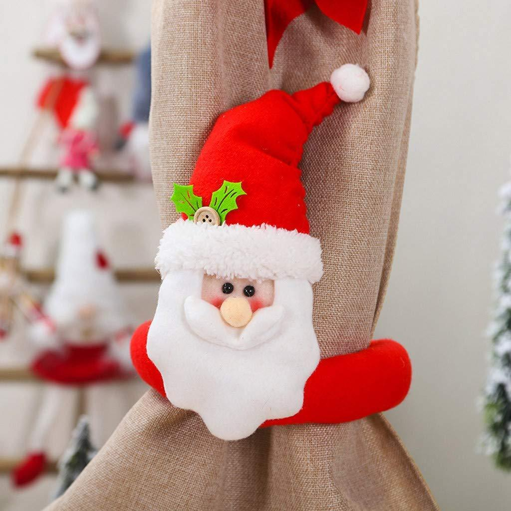 (50% OFF) Christmas Curtain Buckle Tieback