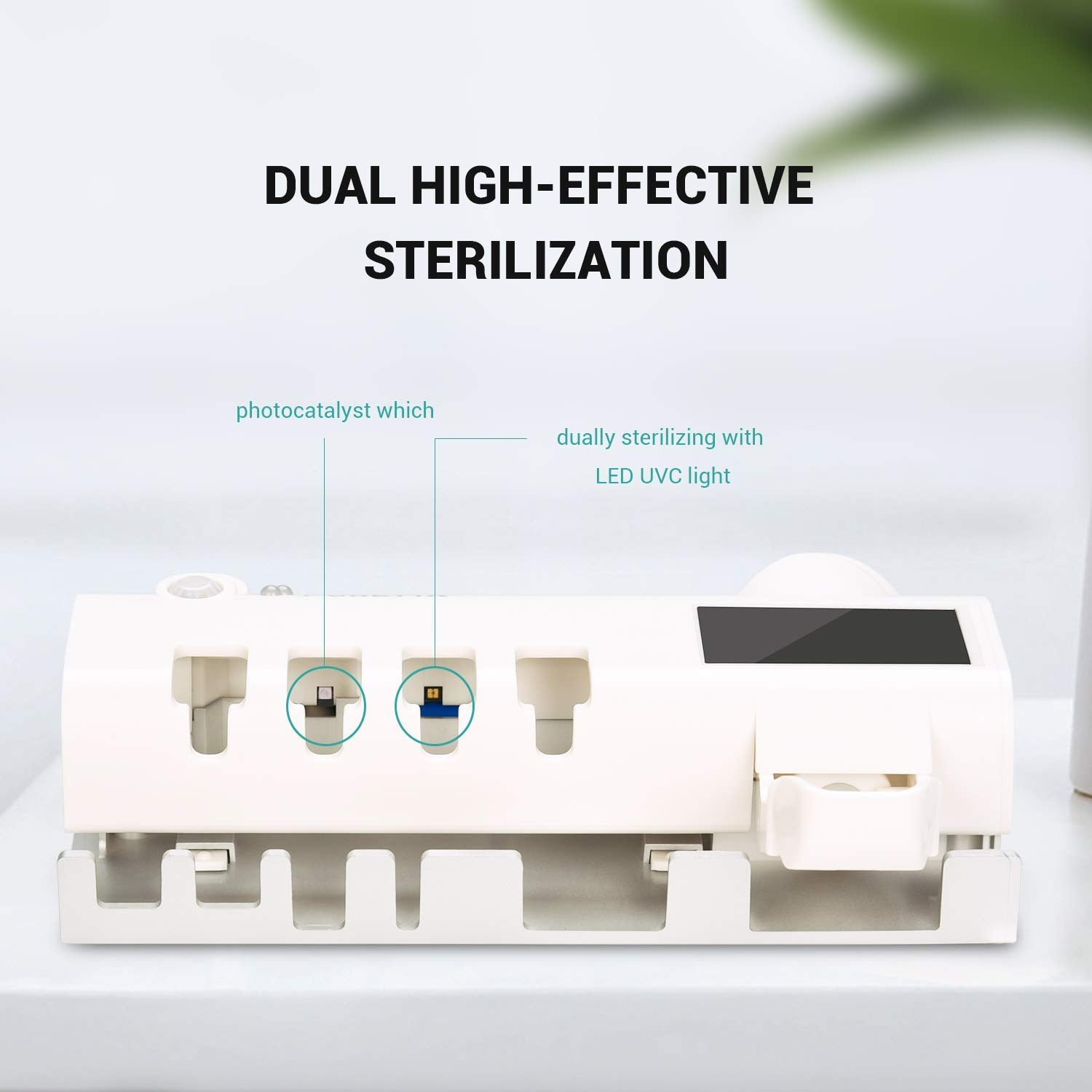 Puretta | The Ultimate Multifunctional Toothbrush Sterilizer