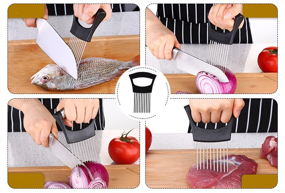 SIMPLY SLICE EASY GRIP FOOD HOLDER(30% OFF)