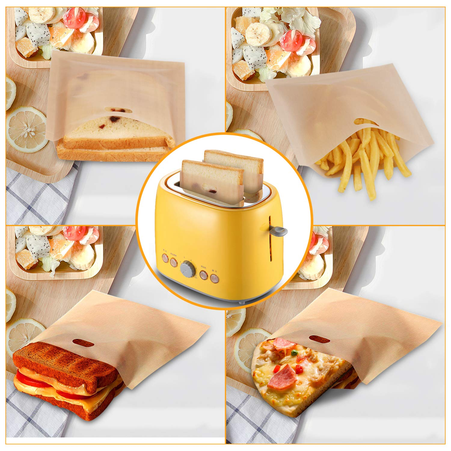 SUPERMI™REUSABLE TOASTER BAGS-Limited Offer