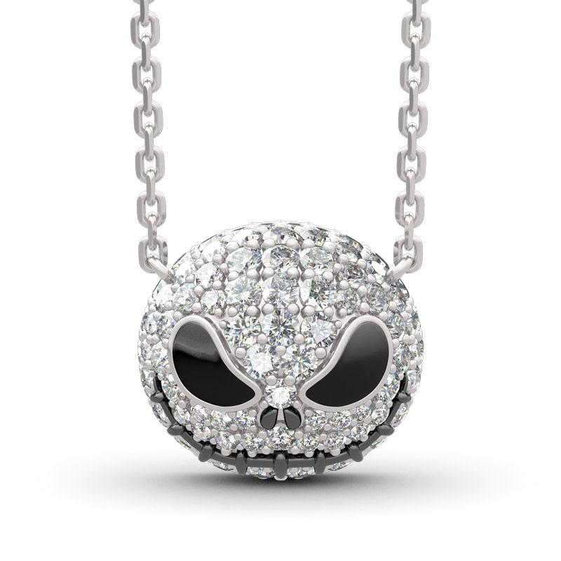 "【50%OFF】""Pumpkin King"" ""Jack Skull"" Cute Halloween Christmas Gift Sterling Silver Skull"