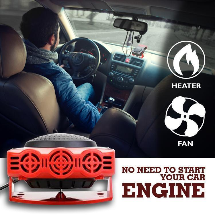 Defrost N Defog Car Windshield Heater (Buy 2 Free Shipping)