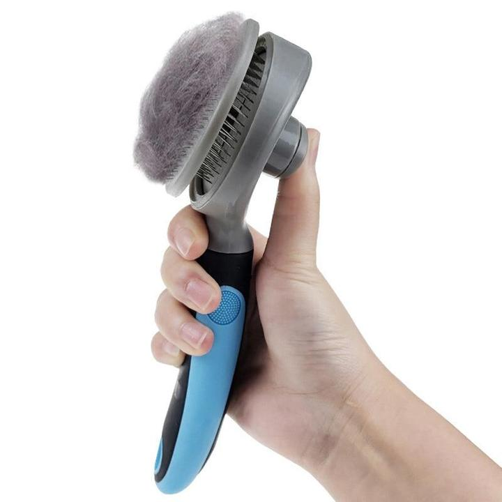 Self-Cleaning Pet Hair Remove Brush