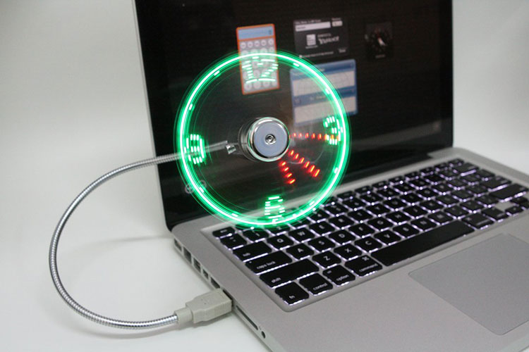 SUPERMI™MULTI-FUNCTIONAL USB LED CLOCK FAN【70% OFF ONLY TODAY 】