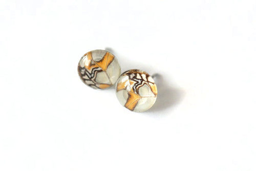 Glass Studs - Stelenes Butterfly