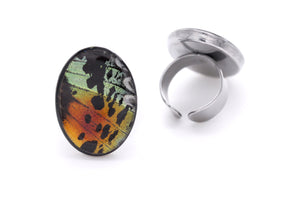 Statement Ring - Rainbow Sunset
