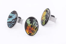 Load image into Gallery viewer, Statement Ring - Rainbow Wings