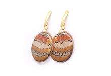 Load image into Gallery viewer, Geometric Cethosia Earrings - Circle