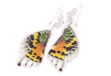 Load image into Gallery viewer, Filigree Earrings - Rainbow Sunset Moth