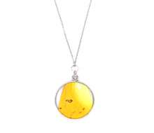 Load image into Gallery viewer, Double Sided Yellow Pendant