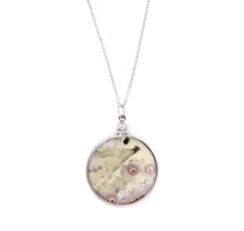 Load image into Gallery viewer, Double Sided Mother of Pearl Pendant