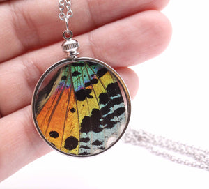 Double Sided Rainbow Pendant