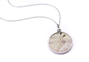 Double Sided Mother of Pearl Pendant