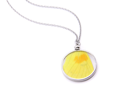 Double Sided Yellow Pendant