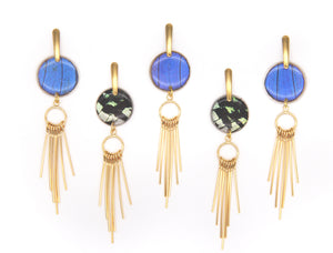 Gold Needle Earrings