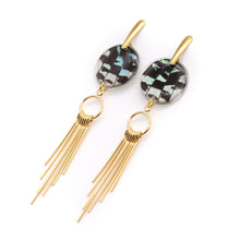 Load image into Gallery viewer, Gold Needle Earrings